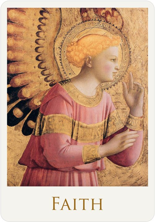 Angel Card Faith